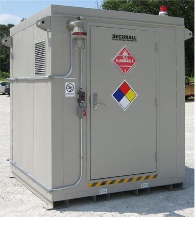 Outdoor Safety Storage Buildings for OSHA Compliance