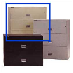 Schwab 4HD43-5000 4 Drawer Lateral File Cabinet, Schwab Fire Safe ...