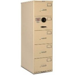 7110 01 614 5389 Gsa Approved Class 6 5 Drawer File Cabinet Gray