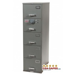 7110 00 919 9193 | Class 6, 5 Drawer File Cabinet ...