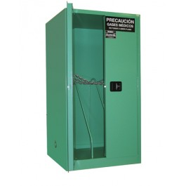 MG106HFL Storage Cabinet, Securall Oxgen Cylinder and Gas
