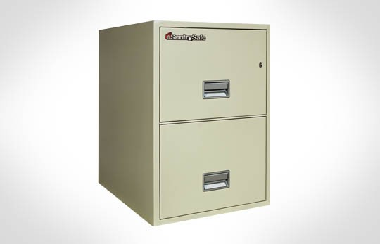 "2G2500 SentrySafe Two Drawer Legal, 25"" Deep **Discontined**"