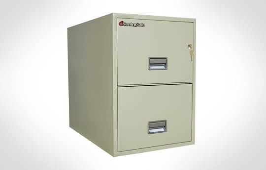 """2G3110 SentrySafe Two Drawer Legal, 31"""" Deep **Discontinued**"""
