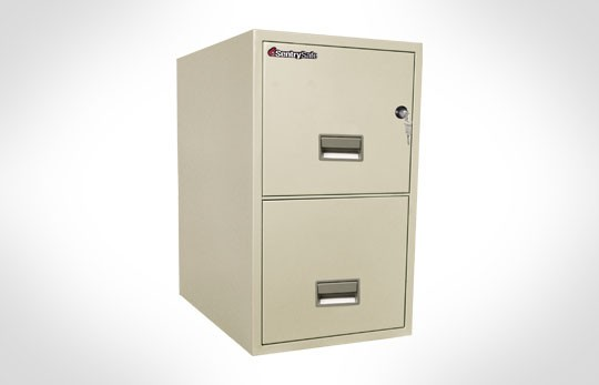 "2T2531 SentrySafe Two Drawer Letter, 25"" Deep **Discontinued**"