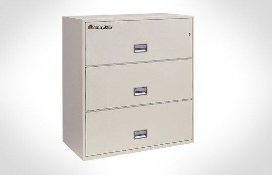 """3L4310 SentrySafe Three Drawer Lateral, 43"""" Wide - **Discontinued**"""