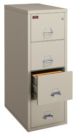 4-2157-2 UL 2 Hour fire filing cabinet