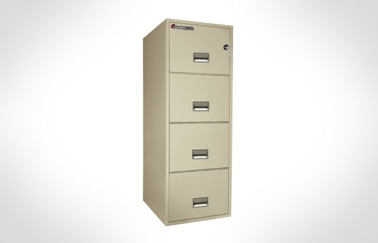 "4G2531 SentrySafe Four Drawer Legal, 25"" Deep **Discontinued**"