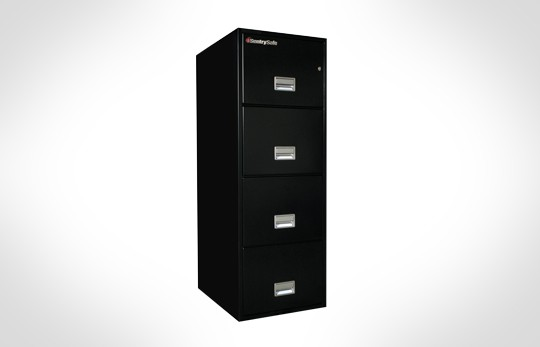 """4G3120 SentrySafe Four Drawer Legal, 31"""" Deep - 2 hour rated **Discontinued**"""