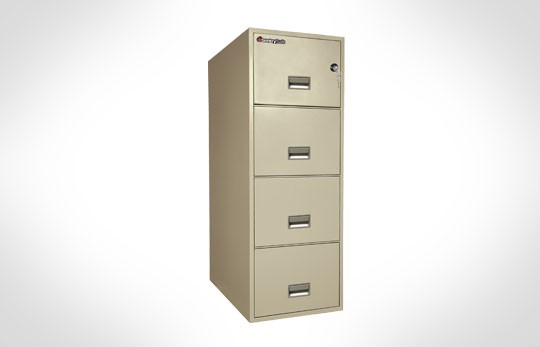 "4G3131 SentrySafe Four Drawer Legal, 31"" Deep **Discontinued**"