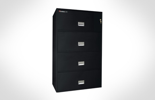 "4L3600 SentrySafe Four Drawer Lateral File, 36"" Wide – **Discontinued**"