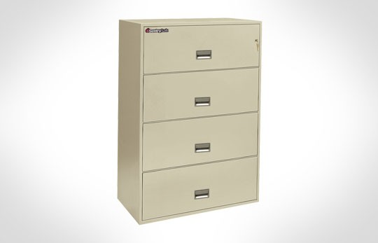 "4L3610 SentrySafe Four Drawer Lateral, 36"" Wide –***Discontinued***"