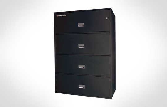 "4L4300 SentrySafe Four Drawer, UL 350 1 Hour Rated, 43"" Wide Lateral File"