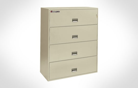 "4L4310 SentrySafe Four Drawer Lateral, 43"" Wide - **Discontinued**"