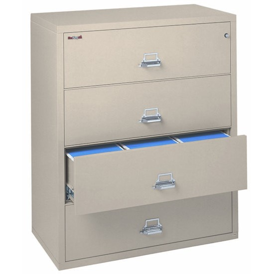 Fireking 4 4422 C 4 Drawer Lateral Filing Cabinet Ul 1