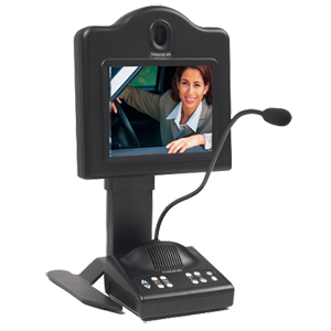 Hamilton Air 5550 Teller Audio Video Console for Drive Up and Drive Thru Lanes
