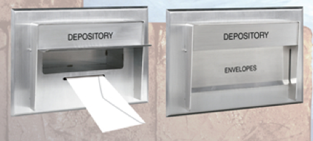 68-LF Envelope Depository Drop Box for Banks, Credit Unions or Rent Check Offices