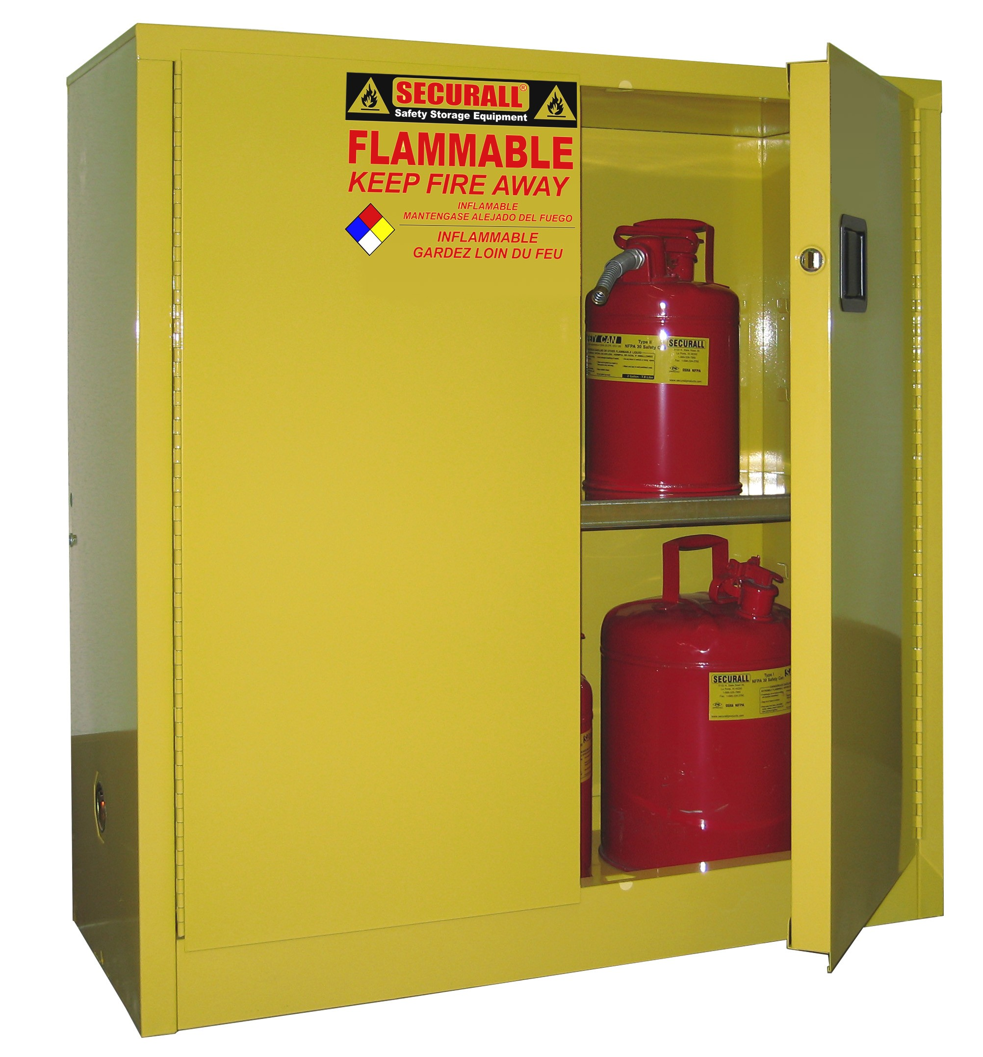 Cabinets for Storing Flammables