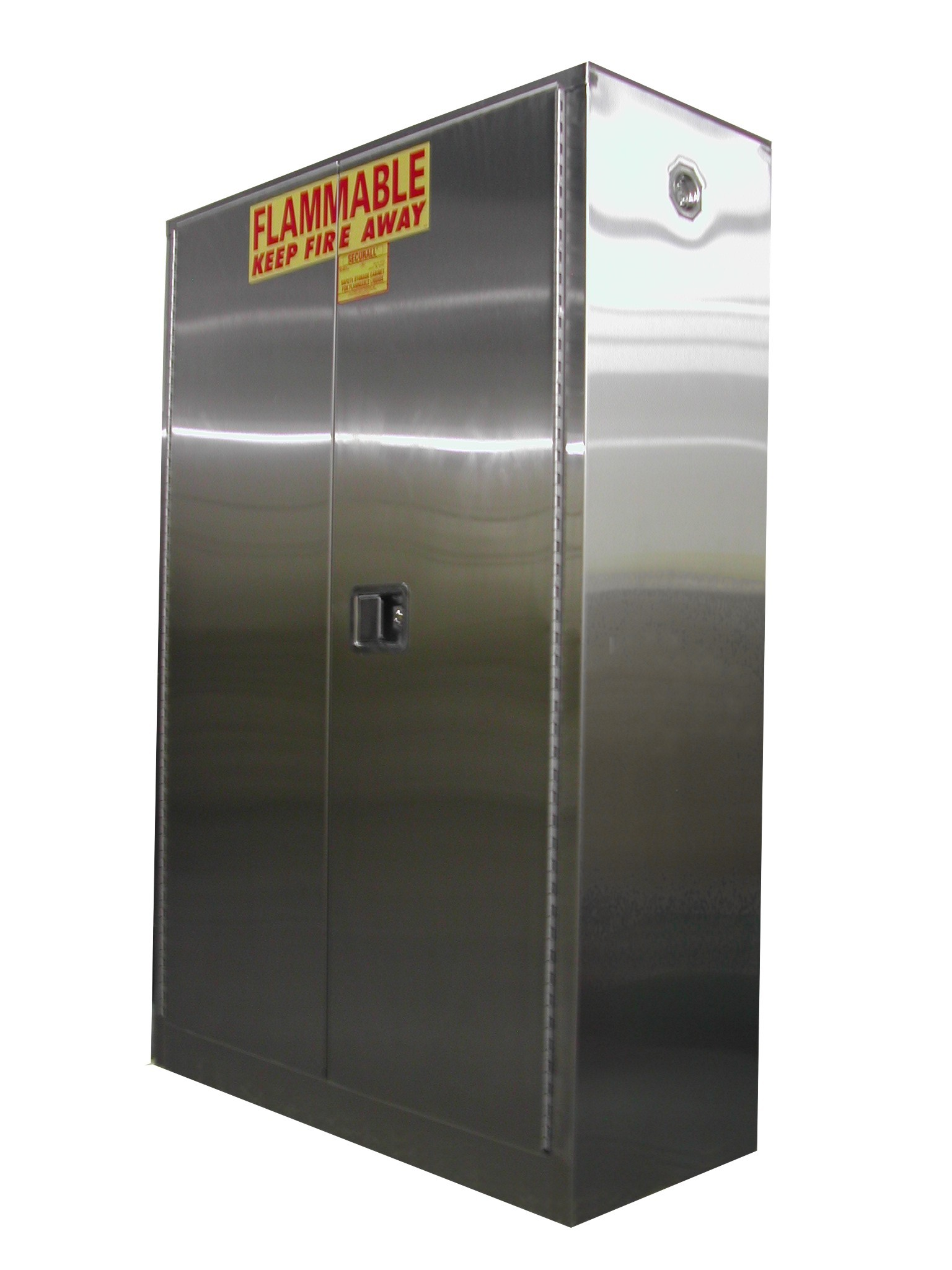 A145-SS - Stainless Steel Flammable Storage Cabinet - 45 Gal. Storage Capacity