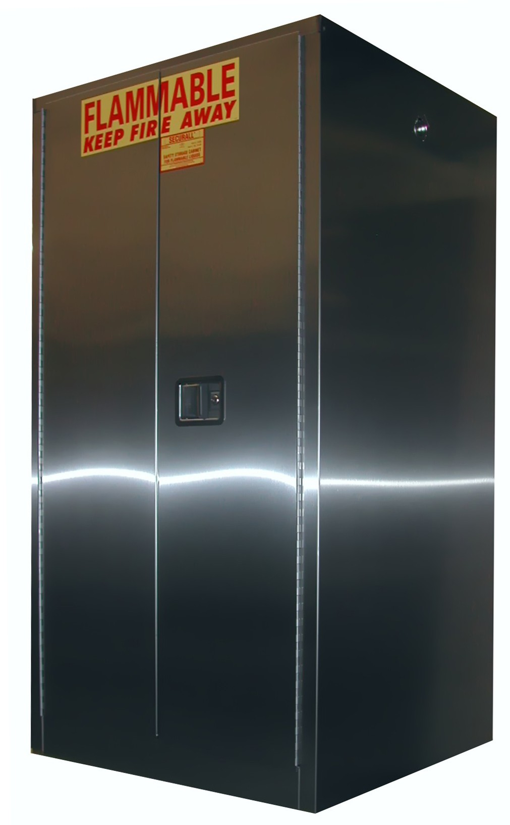 A360-SS - Stainless Steel Flammable Storage Cabinet - 60 Gal. Storage Capacity