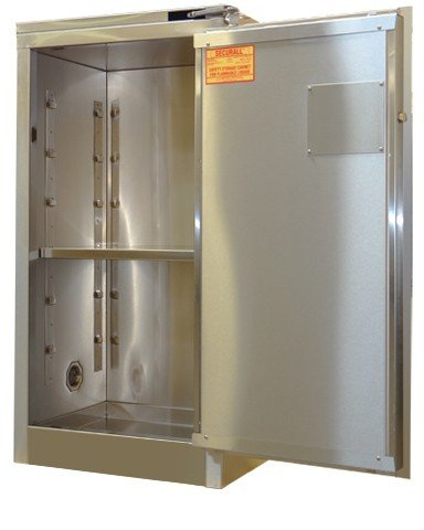 A305-SS - Stainless Steel Flammable Storage Cabinet - 12 Gal. Storage Capacity