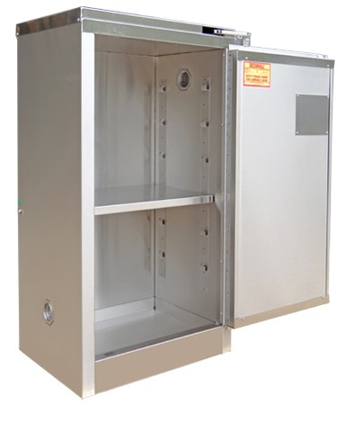 A310-SS - Stainless Steel Flammable Storage Cabinet - 16 Gal. Storage Capacity
