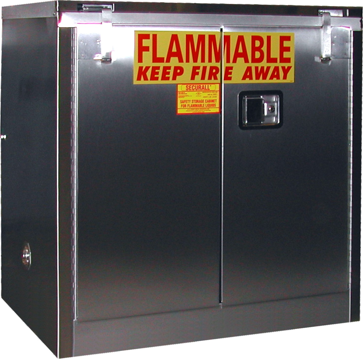 A131-SS - Stainless Steel Flammable Storage Cabinet - 30 Gal. Storage Capacity