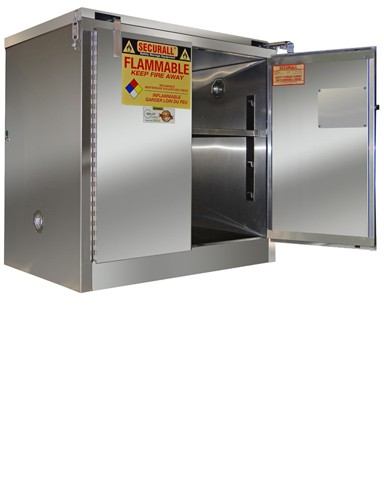 A331-SS - Stainless Steel Flammable Storage Cabinet - 30 Gal. Storage Capacity