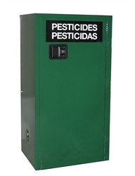AG105 - Pesticide/Agrochemical Storage Cabinet - 12 Gal. Self-Latch Standard Door