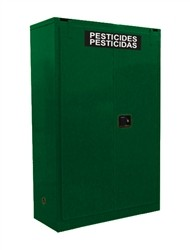 AG345 - Pesticide/Agrochemical Storage Cabinet - 45 Gal. Self-Close, Self-Latch Safe-T-Door