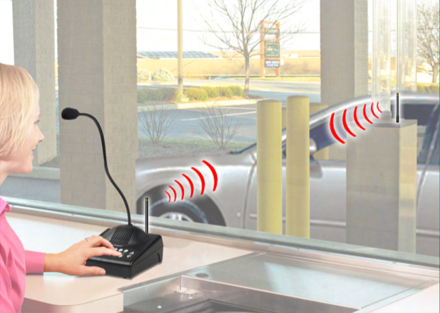 Hamilton Air Talk 900 Wireless Audio System for Drive up or Drive Thru