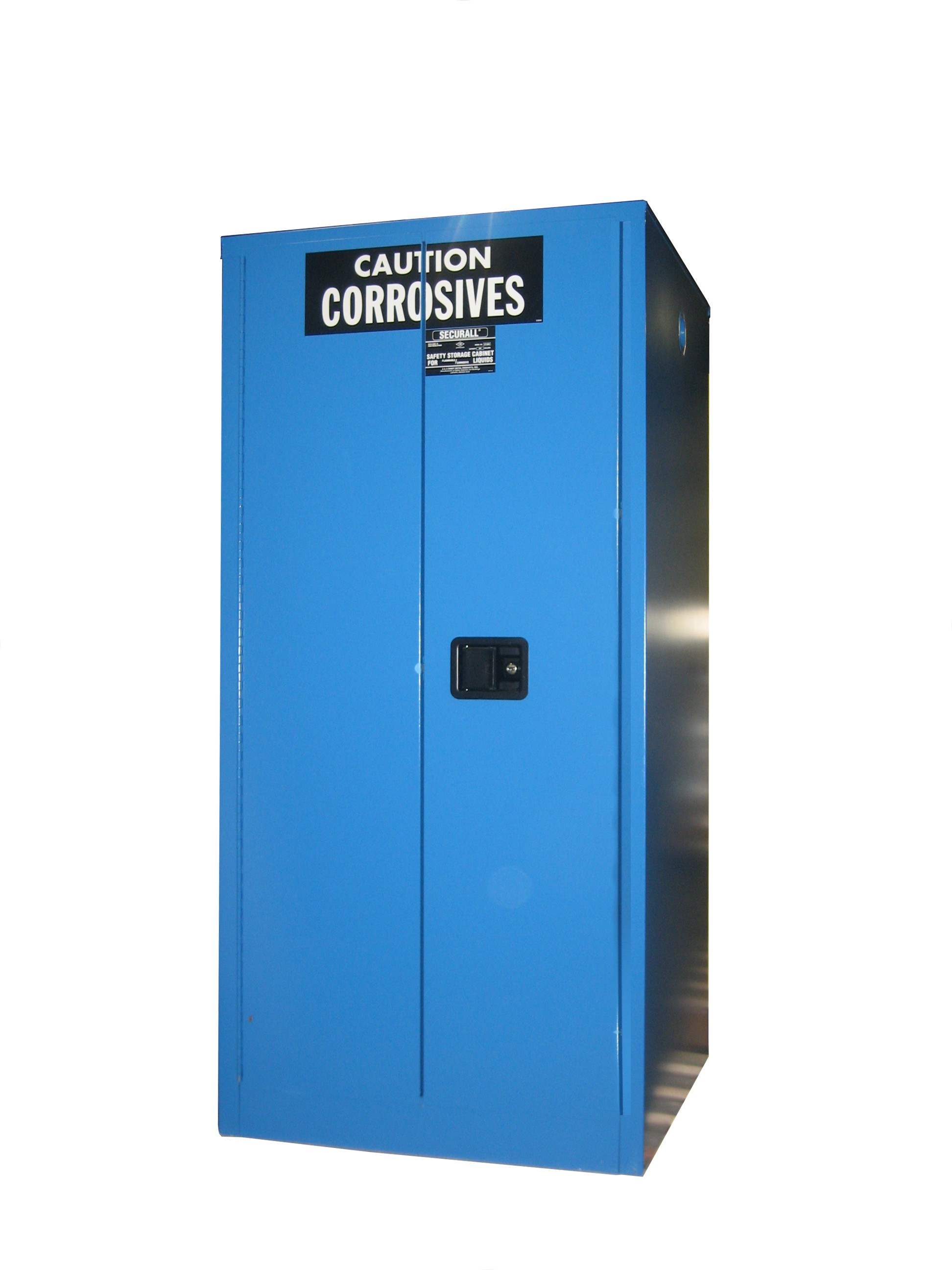 C260 - Acid/Corrosive Storage Cabinet - 60 Gal. Self-Close, Self-Latch Sliding Door