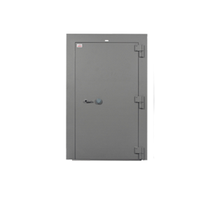 """7110-01-475-9593, Class 5 Armory Vault Door - Type IL, Style K Left Swing with Optical Device - 78""""H x 40""""W"""