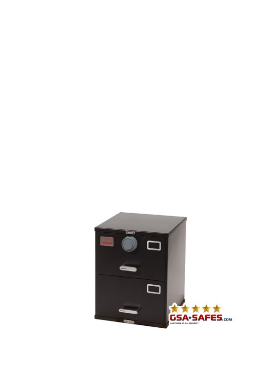 7110-01-614-5396 GSA Approved Class 6, 2 Drawer Filing Cabinet, Letter Size w/ S&G 2740B Lock