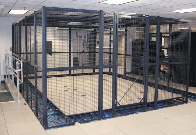 Data Center Server Cages Amp Server Rack Cabinet Cages For