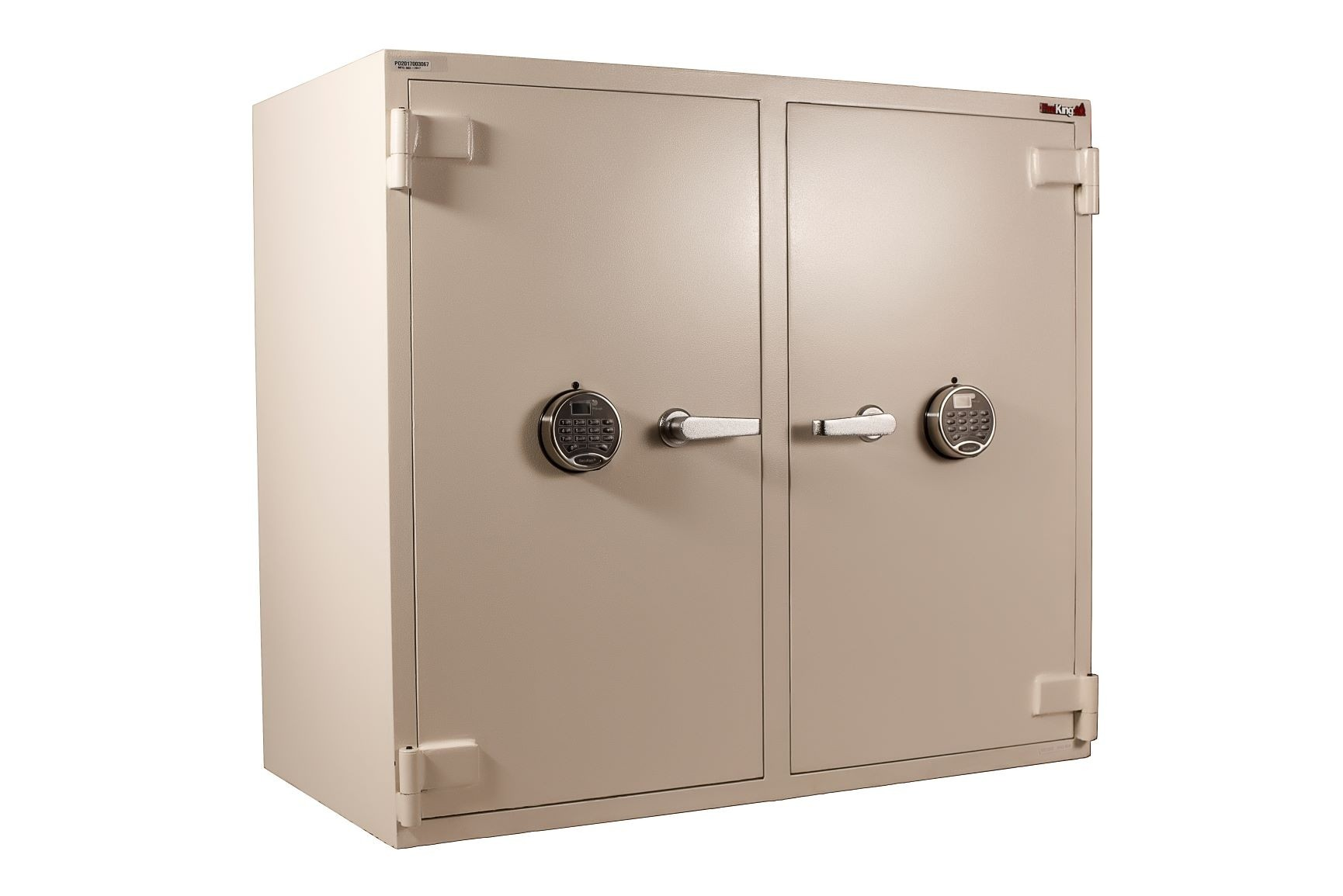 B-Rated Double Door Pharmacy Safe, FireKing B3742WD-SR2