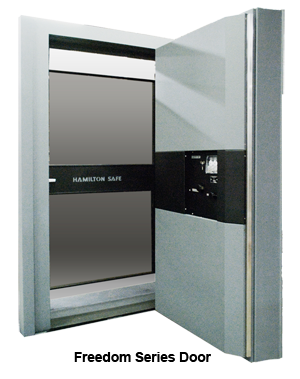 "UL1 Freedom Vault Door, Class 1 Rated 36""W x 79""H"