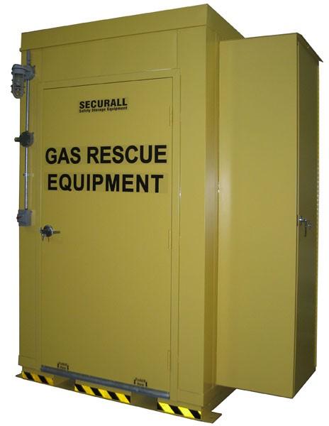 Gas & Emergency Rescue Locker