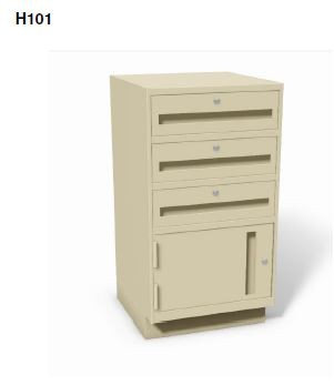 """H101 - Stand-up 38"""" High Undercounter Cabinets"""