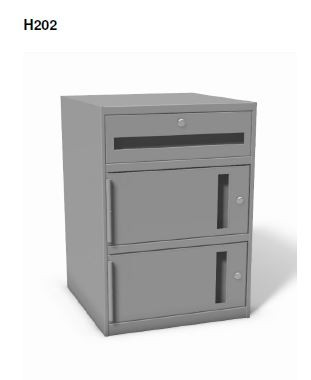 "H202 - Sit-down 27 1/2"" High Undercounter Cabinets"