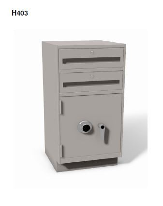 """H203 - Sit-down 27 1/2"""" High Undercounter Cabinets"""