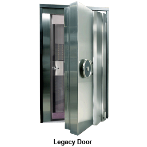"""UL3-Legacy Vault Door, Class 3 Rated 36""""W x 79""""H - Stainless Steel"""
