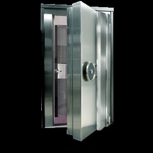 """UL2-Legacy, Class 2 Vault Door 36""""W x 79""""H - Stainless Steel"""