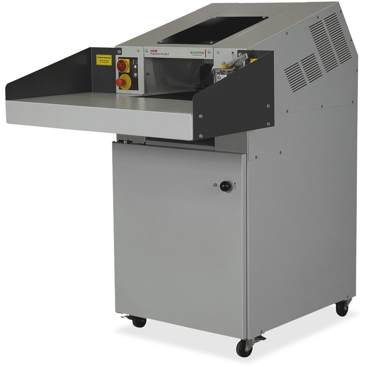 HSM Powerline FA400.2 Strip-cut Continuous-Duty Industrial Shredder, White Glove Delivery