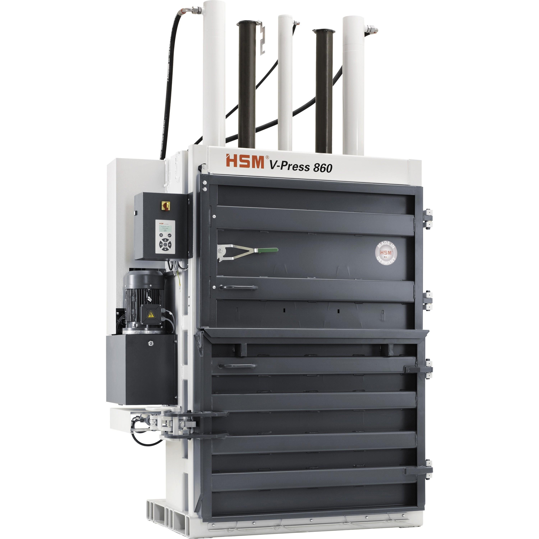 HSM V-Press 860L Vertical Baler