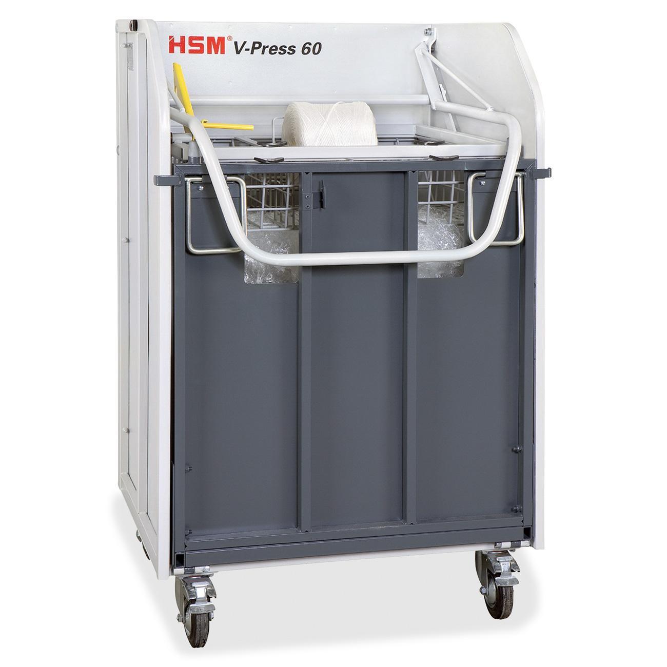 HSM6201 HSM V-Press 60 Plastic Film Baler