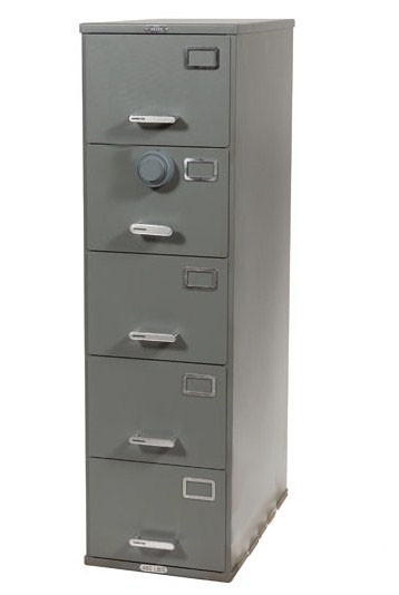 ArmorStor™ High Security Rated File Cabinet - 5 Drawer