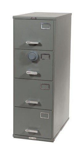 ArmorStor™ High Security Rated File Cabinet - 4 Drawer
