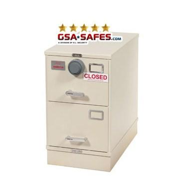 7110-01-015-4639   Class 6, 2 Drawer File Cabinet, Parchment
