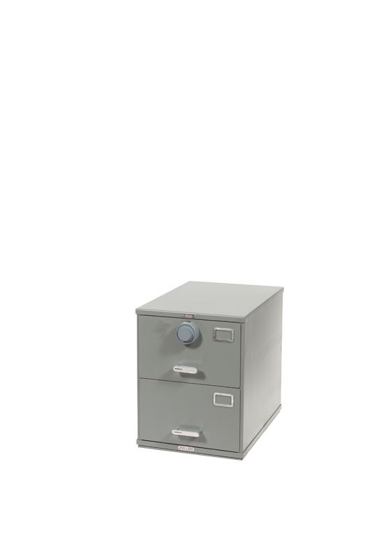 ArmorStor™ High Security Rated File Cabinet - 2 Drawer  sc 1 st  KL Security & ArmorStor™ High Security File Cabinet for Compliance Requirements ...