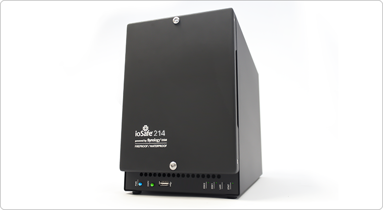 ioSafe 216 NAS 2 x 3 TB Fireproof Waterproof Private Cloud Server, 5 Yr DRS